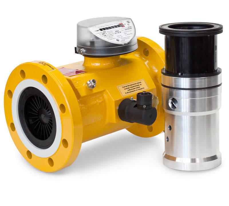 Комплекс для измерения количества газа СГ-ЭК-Т-2500/1,6 Ду=200мм