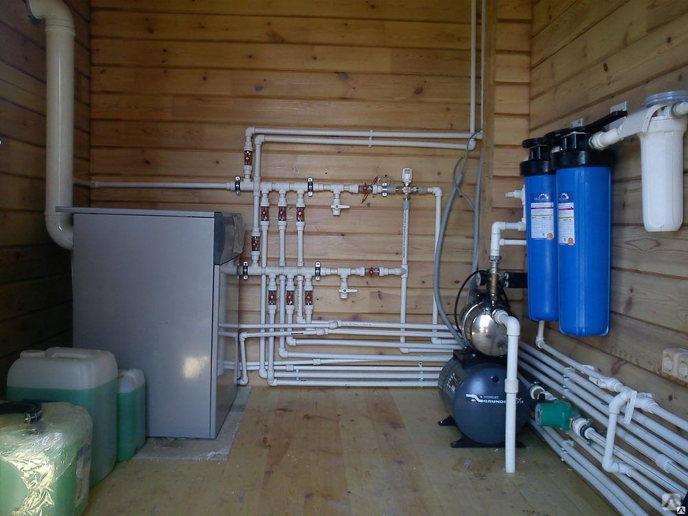 Водоснабжение и канализация в частном доме своими руками