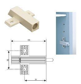 Амортизатор мебельный Адаптер для Smove, крепление под шуруп, бежевый Крепика дом крепежных материалов