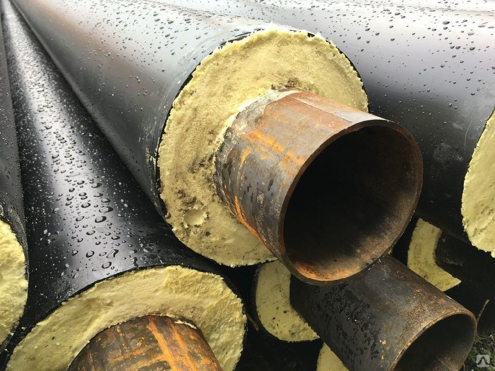 стальные трубы с ППУ-изоляцией